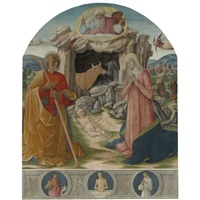 the nativity by benvenuto di giovanni and girolamo di benvenuto