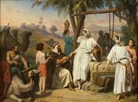 eliezer et rebecca by jean-baptiste auguste leloir