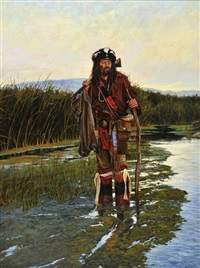 green river trapper by john demott