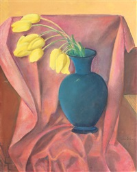 yellow tulips by nina arbore