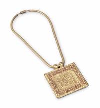 adam et eve, a necklace by line vautrin