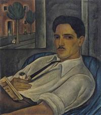 portrait of the french engraver elié marquié by victor manuel