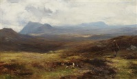 moorland in atholl by david farquharson
