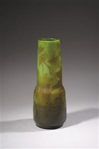 vase poème by émile gallé
