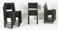 suite de douze chaises (set of 12) by sven markelius
