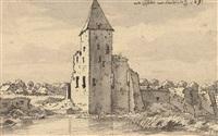 the ruins of heusden castle by valentijn klotz