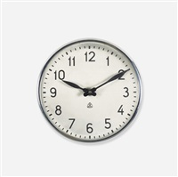wall clock by arne jacobsen