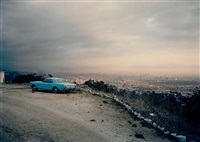 blue mustang (from the los angeles series) by adam bartos