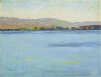 am thunersee by cuno amiet