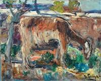 paesaggio con pecora by radames toma