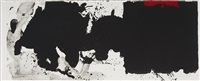 black with no way out by robert motherwell