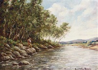 fishing on the upper wye by william ellis barrington-browne