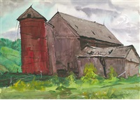 red silo by andrew winter