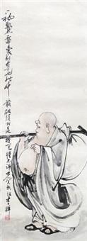 布袋和尚 by li geng