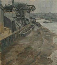 thames mud by eunice simeon