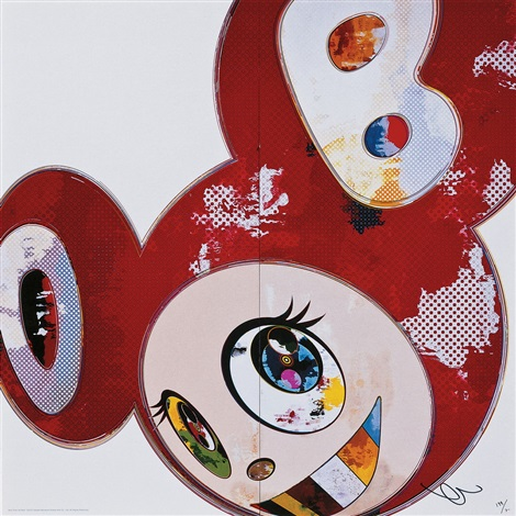 and then x6 red by takashi murakami