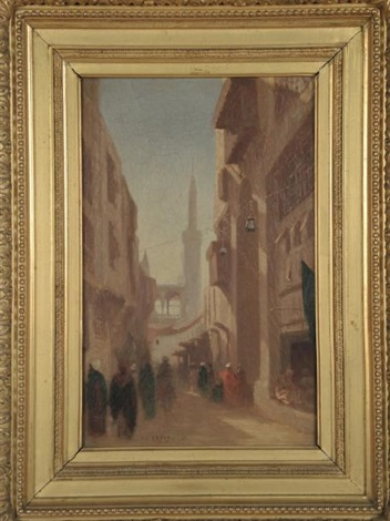 rue du caire by charles théodore frère bey frère