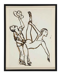 untitled (dancers) by nicole eisenman