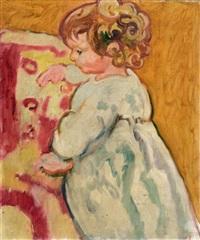 portrait d'enfant by louis valtat