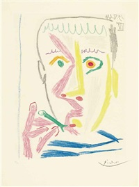 fumeur ii by pablo picasso