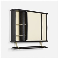 wall-mounted cabinet from l'unité d'habitation air france, brazzaville by charlotte perriand