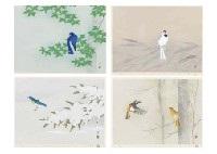 beauty in the seasons (portfolio of 4) by atsushi uemura