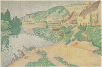 les andelys by paul signac