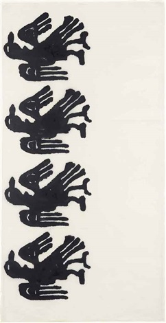 untitled (r18) by christopher wool