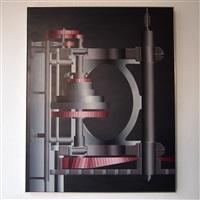 acrylique sur toile by roger nellens