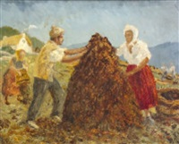 stacking the peat by marshall c. hutson