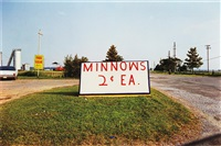 untitled (minnows 2 cents) from the los alamos portfolio 1965-74 by william eggleston