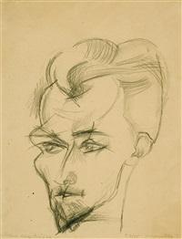porträt hans blüher by conrad felixmüller