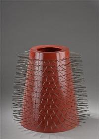 vase de la série des masks by johanna grawunder