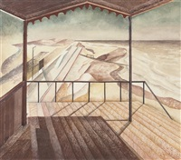 pavilion by the sea, lowestoft by h. augustus lunn