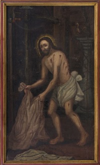 cristo flagelado (con elementos de la pasión) by anonymous-mexican (18)