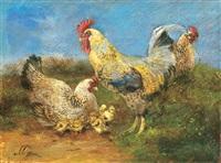 chicken run by geza mészöly