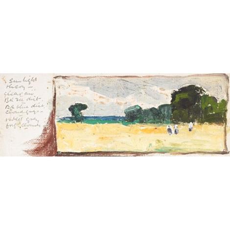 landscape studies set of 37 by joseph langsdale pickering