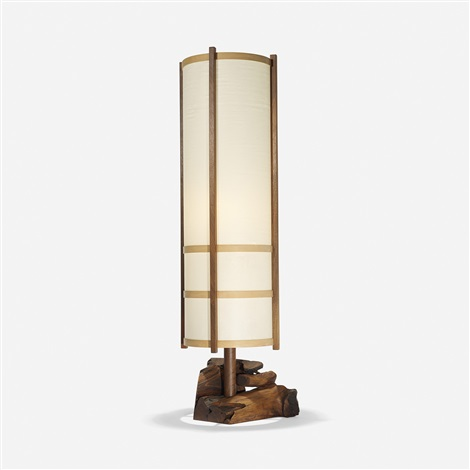 kent hall floor lamp by george nakashima