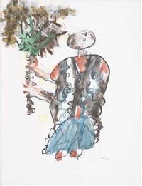 covjek sa stablon by slavko kopac