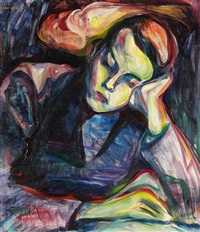 schlafender junge by maria von heider-schweinitz