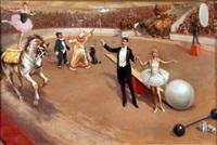 circus scene by j. valentine