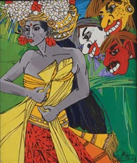 ayu penari bali (ayu, balinese dancer) by krijono