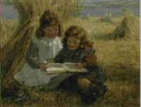 a reading lesson by arthur percy dixon