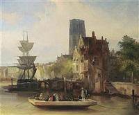 the ferry by jan van der kaa