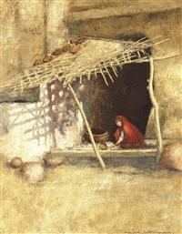 domestic chores by mortimer luddington menpes