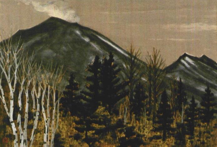 spring mountain by kyujin yamamoto