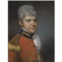 portrait of captain benjamin sydenham by john russell