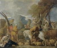 le voyage d'abraham en egypte by sébastien bourdon