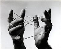 hand and string by john muller