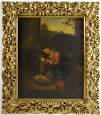 madonna and child by v. e. cecchi